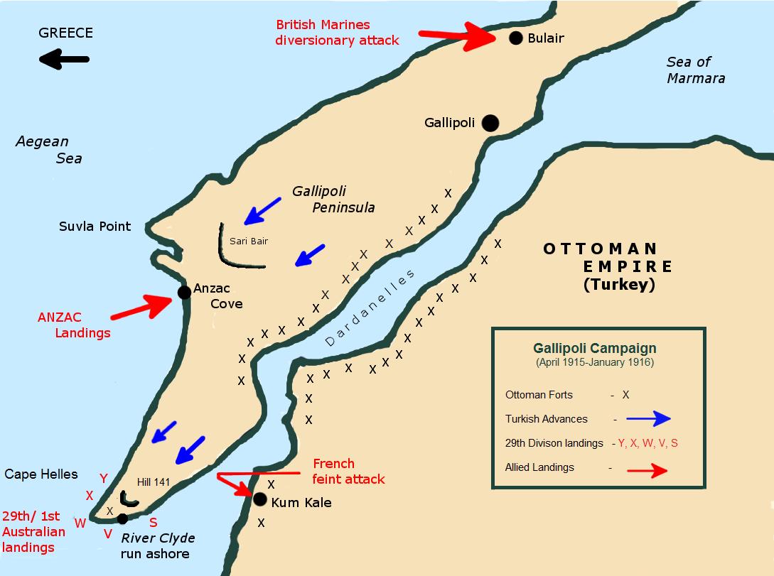 Cartina Geografica Italia Gallipoli.Le Battaglie Della Grande Guerra Gallipoli 1915 L Azzardo Di Churchill Restorica