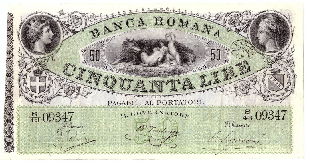 Lo Scandalo Della Banca Romana Il Caso Che Non Spacco L Italia Restorica